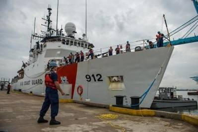 Coast Guard Cutter 'Legare': Photo credit USCG