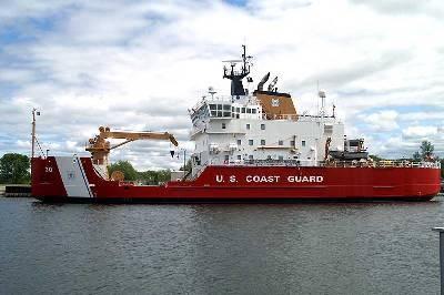 Coast Guard Cutter Mackinaw (USCG photo)