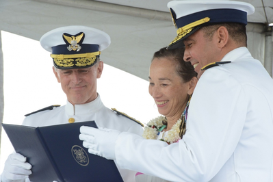 Coast Guard holds Change of Command, retirement ceremony for 14th District (Photo by Petty Officer 2nd Class Tara Molle)
