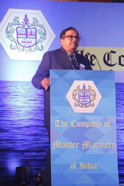 Company of Master Mariners of India Chairman Captain Philip Mathews (Photo: CMMI)