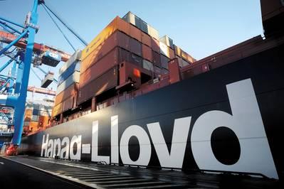 Containership loading: Photo Hapag-Lloyd