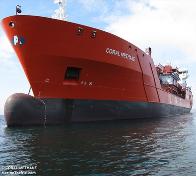 © Coral Methane / MarineTraffic.com
