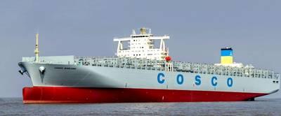 Cosco ship: China Shipbuilding Industry Association