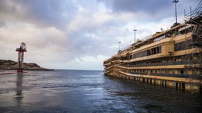 Costa Concordia Dec. 2013: Image credit Costa Crociere