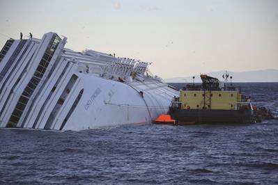 Costa Concordia (Photo courtesy of Boskalis)