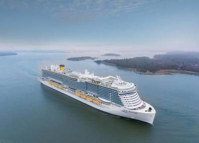Costa Smeralda (File photo: Costa Cruises)
