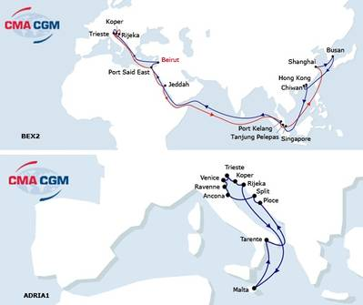 Courtesy CMA CGM