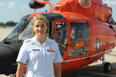 CPO  Karen Voorhees: Photo credit USCG