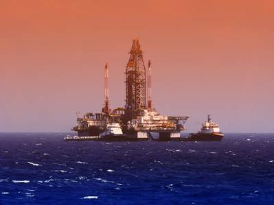 Credit: A drilling rig in the Gulf of Mexico - Credit:flyingrussian/AdobeStock
