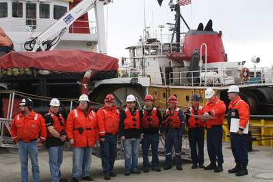 Tug Crew Commended For Emergency Rescue Tow