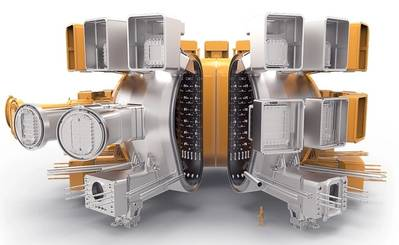 Cross-sectional view of ITER. Image: Hyundai Heavy Industries (HHI)