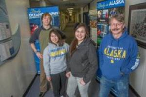 Crowley UAF Scholarship Winners: Photo credit Crowley