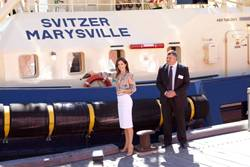"Crown Pricess Mary Launches Tug ""SVITZER"""