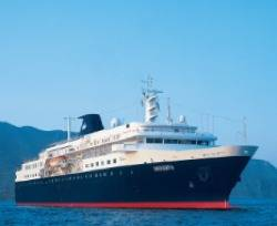 Cruise Ship 'Minerva': Photo credit Swan Hellenic
