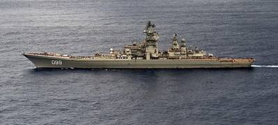Cruiser Pyotr Veliky: Photo credit Wiki CCL