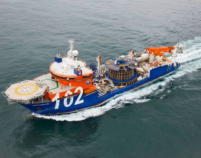CSV North Ocean: Photo courtesy of Oceanteam Shipping
