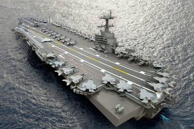 CVN 79: Image courtesy of NNS