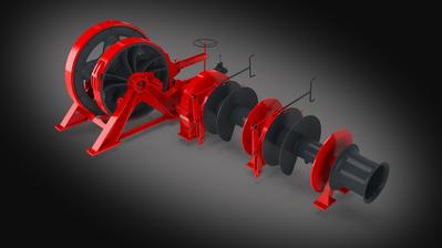 Combined windlass-mooring winch (Image: MacGregor)