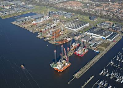 Damen Shiprepair Amsterdam (Photo: Damen)