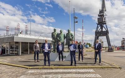 Damen Shiprepair Harbor & Voyage signs contract with Verolme Special Equipment for ECGS service provision (Photo: Damen)