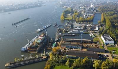 Damen Shiprepair Oranjewerf (Photo: Damen)