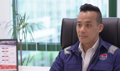 Darren Ang, CEO of Miclyn Express Offshore