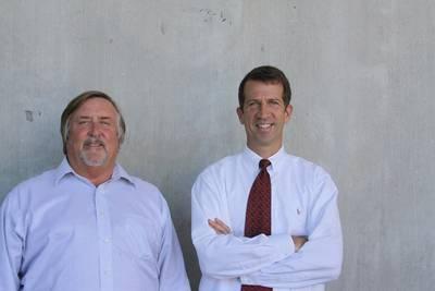 David Blair (left) and Andrew Adams