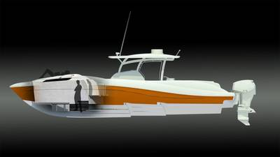 Deep Impact 399 Model: Image credit Deep Impact Boats