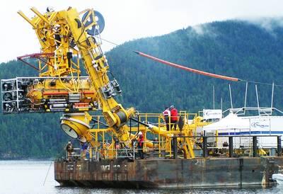 Deep Submergence System: Photo credit OceanWorks