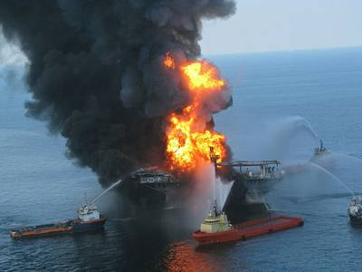 Deepwater Horizon (USCG photo)