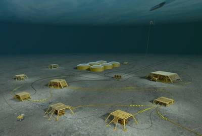 Deepwater Subsea Factory: Image courtesy of Statoil