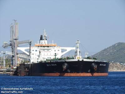 Delta Ocean Tanker - Image by Demosthenes Kyriakoulis/MarineTraffic