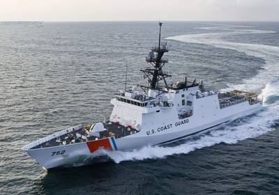 Depicted: Coast Guard National Security Cutter