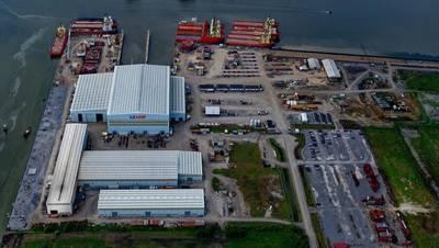 Edison Chouest Offshore's LaShip shipyard (Photo: Pemamek)