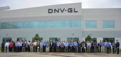 DNV GL inaugural meeting of the NAOEMC. Photo by DNV GL