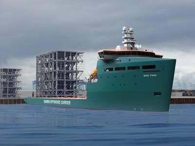 DOC 7500: Image credit Damen Shipyards