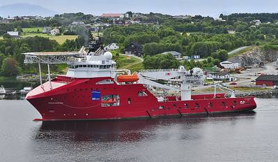 DOF Subsea Norways's Skandi Skolten will assist with the installation of Teekay Petrojarl Production AS's newbuild FPSO on the Knarr field development