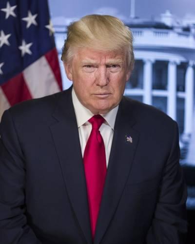 Donald Trump (Official Photo)