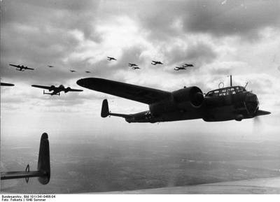 Dornier Aircraft circa 1940: Photo credit CCL