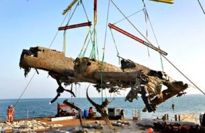 Dornier Salvage: Photo credit UK Government