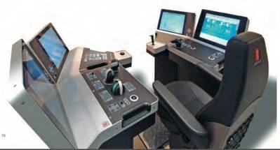 DP Controls: Image courtesy of Kongsberg Maritime