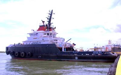 DP2 Tugboat Ocean Sky: Photo credit Bollinger Shipyards