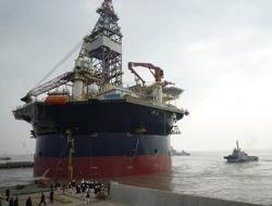 Drill Rig: Photo credit COSCO