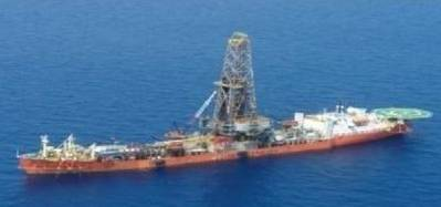 Drillship Energy Searcher: Image courtesy of the owners