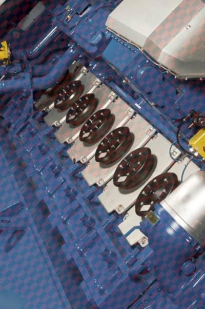 Dual-fuel diesel engine 34 DF: Image credit Wärtsilä