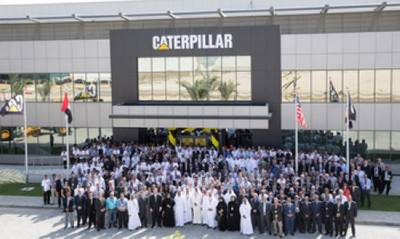 Dubai Facility Opening: Photo credit Caterpillar