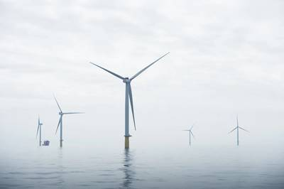 Dudgeon offshore wind farm (Photo: Ole Jørgen Bratland / Statoil)