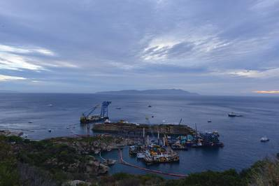 The successful Costa Concordia Parbuckling project