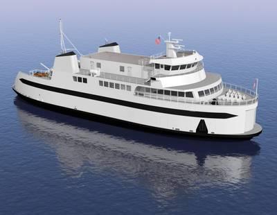 EBDG Designed Freight-Passenger Ferry for Steamship Authority