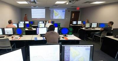 ECDIS Training in Progress: Photo credit Resolve Maritime Academy
